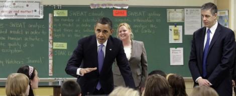 Obama Maryland School
