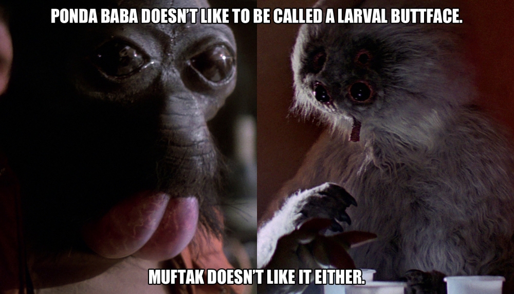 Ponda Baba and Muftak meme